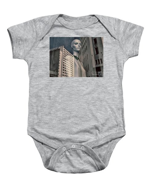 Journal Of A Solitude Baby Onesie