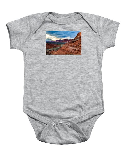 Journey Through Capitol Reef Baby Onesie