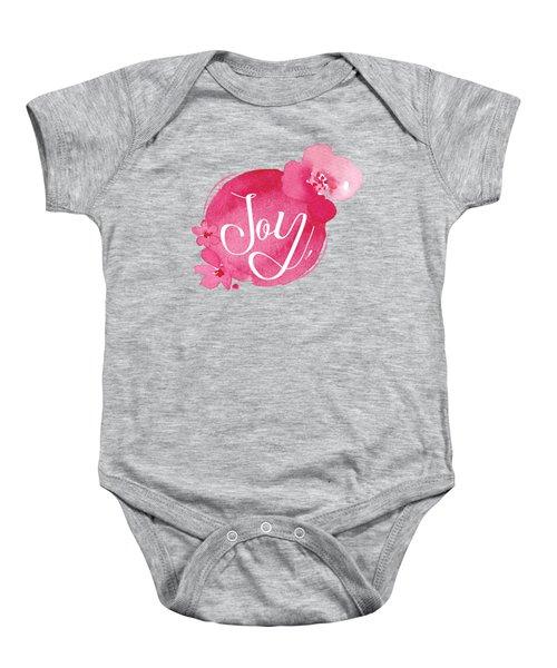 Joy Baby Onesie