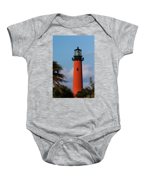 Jupiter Inlet Lighthouse Baby Onesie