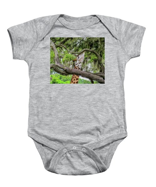 Just Minding My Own Business Baby Onesie