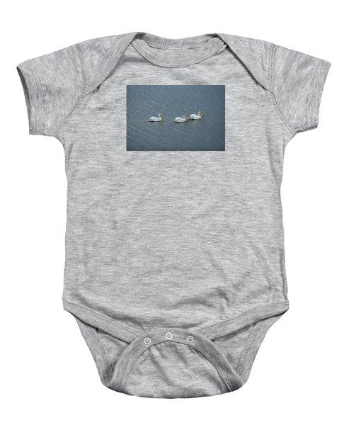 Triple Pelicans Lake John Swa Co Baby Onesie