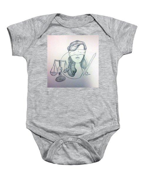 Justice Baby Onesie