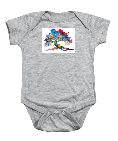Da186 Kelly's Tree    Daniel Adams Baby Onesie
