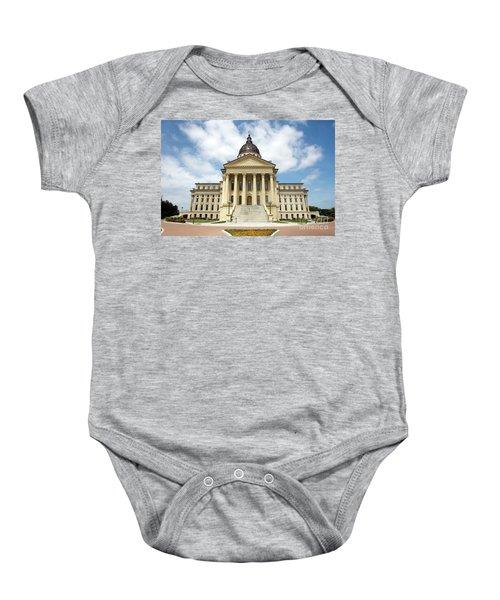 Kansas State Capitol Building Baby Onesie