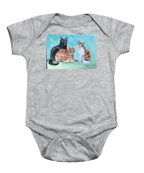 Kates's Cats Baby Onesie