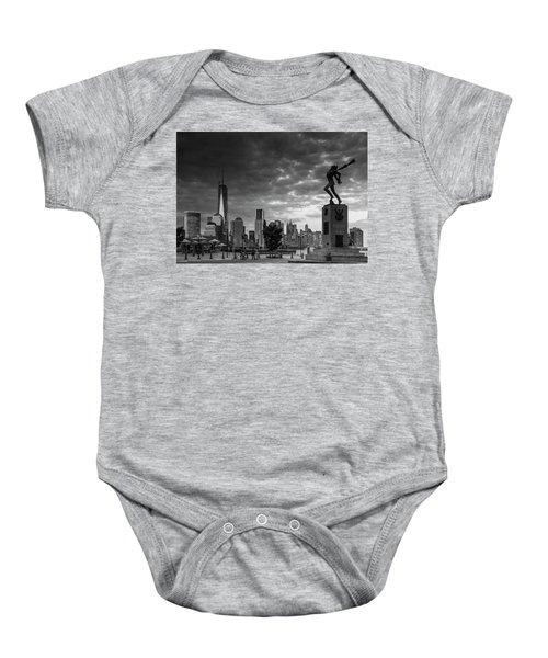 Katyn New World Trade Center In New York Baby Onesie