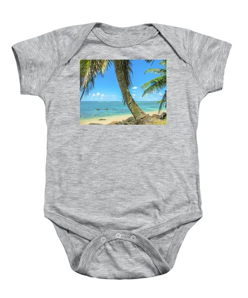 Kauai Tropical Beach Baby Onesie