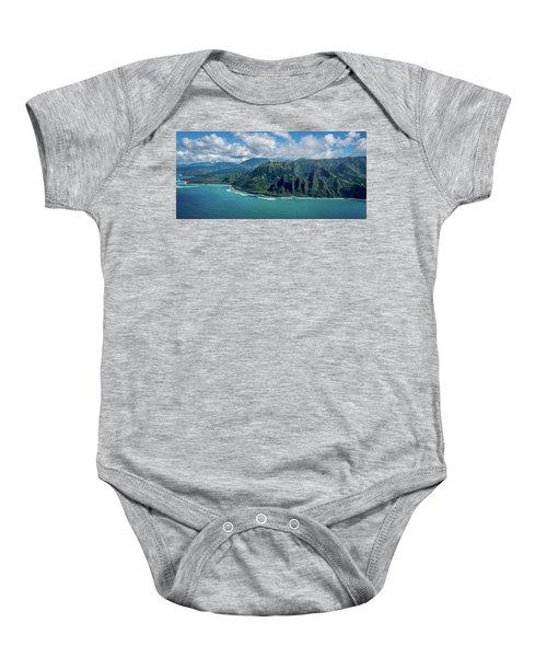 Kawaii Na Pali Coast  Baby Onesie