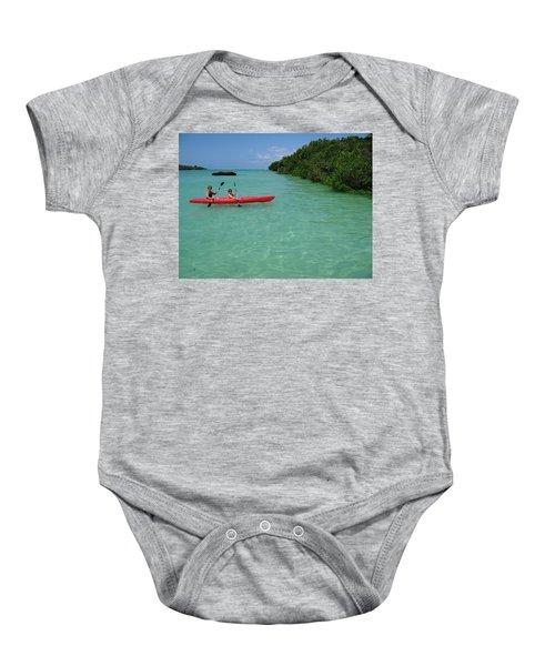 Kayaking Perfection 2 Baby Onesie