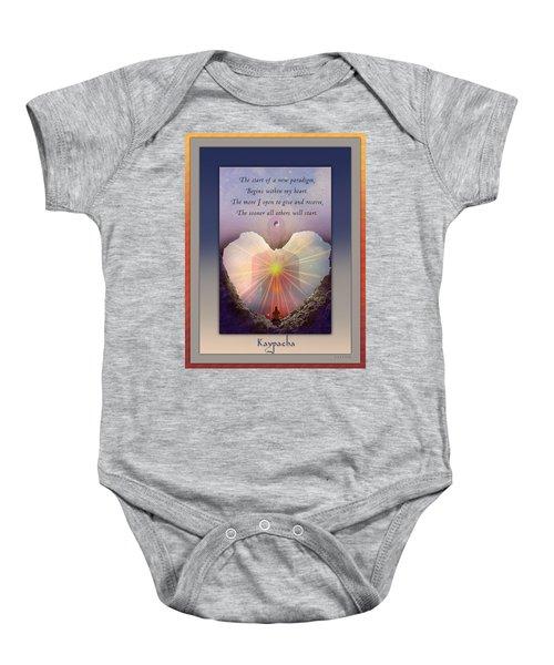 Kaypacha Mantra 3.3.2015 Baby Onesie