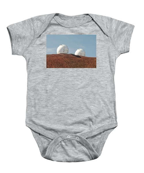 Keck 1 And Keck 2 Baby Onesie