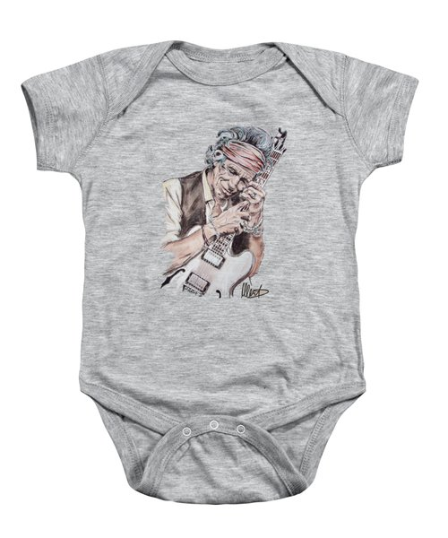 Keith Richards Baby Onesie