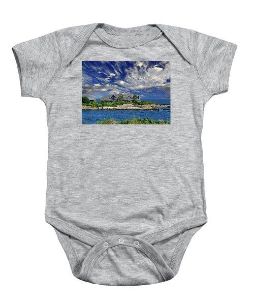 Kennebunkport, Maine - Walker's Point Baby Onesie