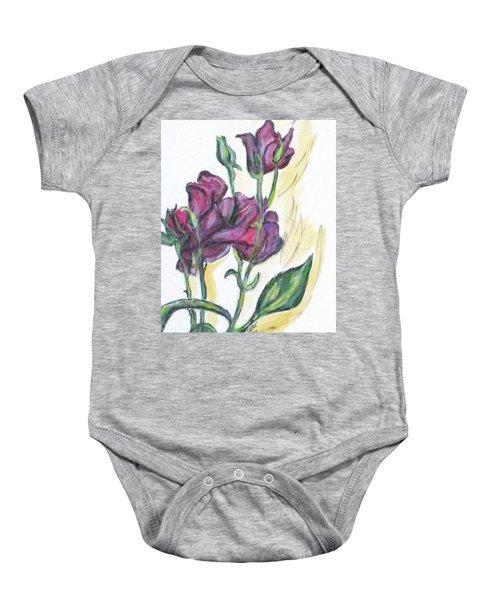 Kimberly's Spring Flower Baby Onesie