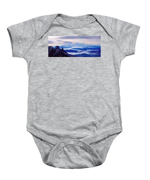 Kinabalu Panorama Baby Onesie