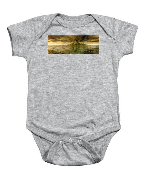 King Kongs Island Baby Onesie