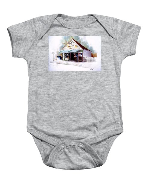 King's Ice Cream Baby Onesie