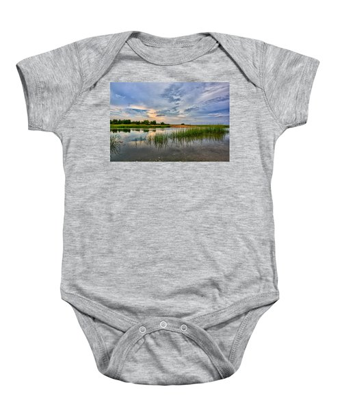 Kings Park Bluffs Baby Onesie