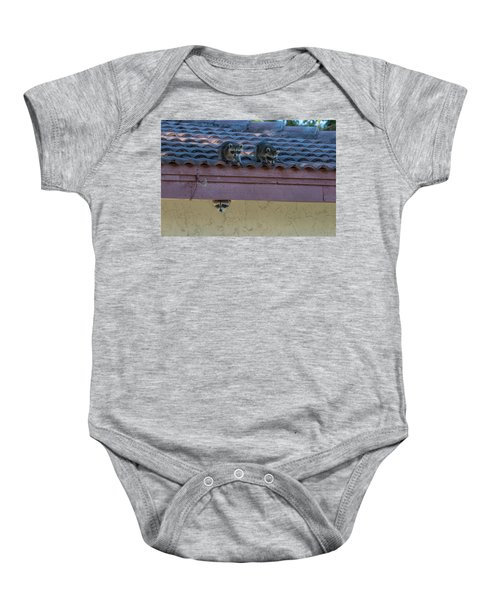 Kits On The Roof Baby Onesie