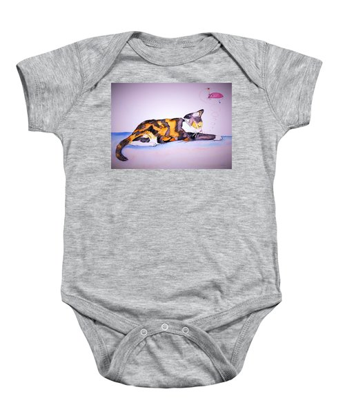 Kitty Cat Baby Onesie