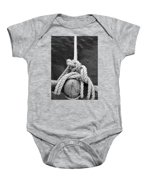 Baby Onesie featuring the photograph Knot On My Warf Iv by Stephen Mitchell