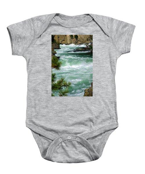 Kootenai River Baby Onesie