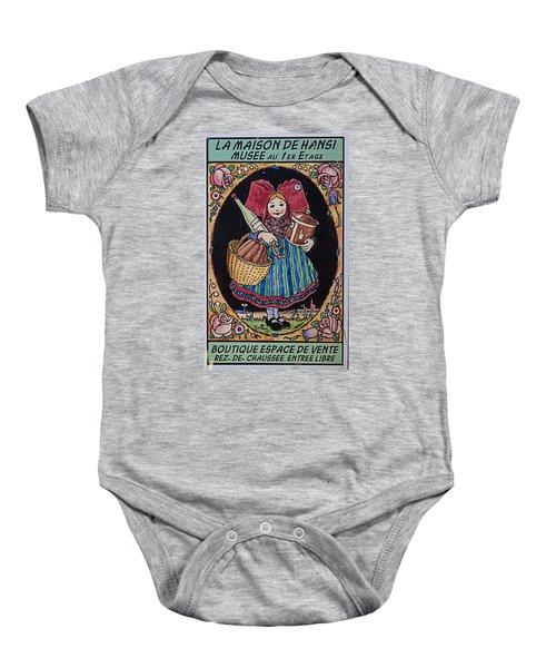La Maison Hansi Poster Baby Onesie