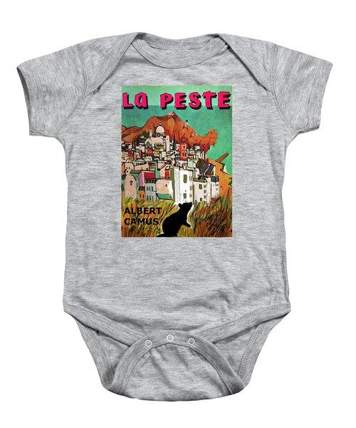La Peste  Albert Camus Poster Baby Onesie