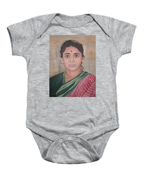 Lady From India Baby Onesie