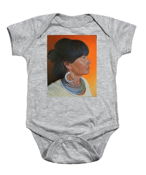 Lady Of Sapa Baby Onesie