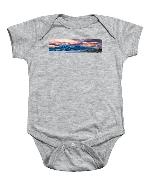 Baby Onesie featuring the photograph Lake Dillon by Sebastian Musial