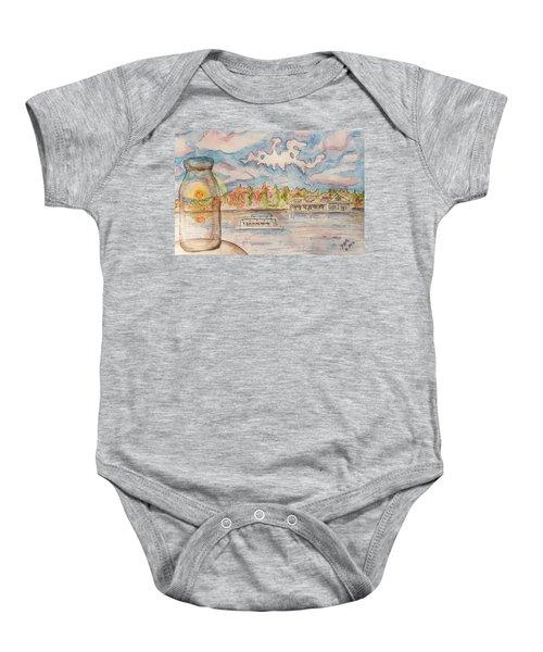 Lake Hopatcong Baby Onesie