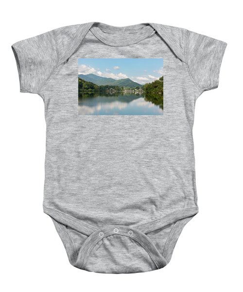Lake Junaluska #1 - September 9 2016 Baby Onesie