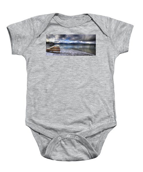Lake Pend D'oreille At 41 South Baby Onesie