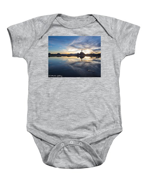 Lake Tahoe Sunset Baby Onesie