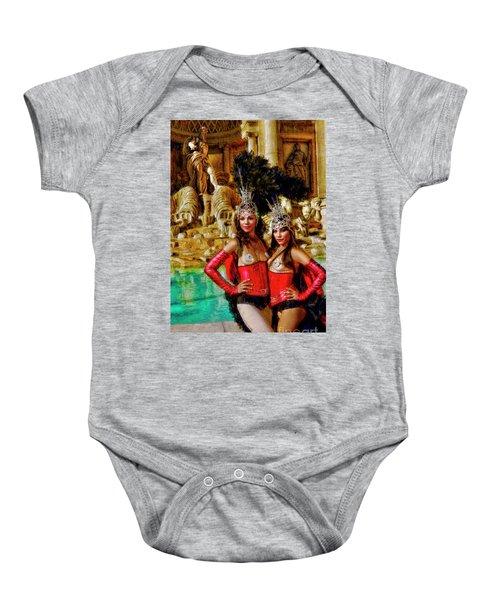 Las Vegas Showgirls Baby Onesie