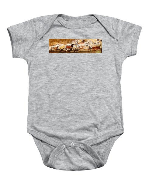Lascaux Hall Of The Bulls Baby Onesie