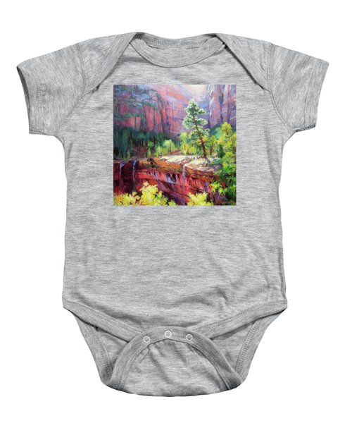 Last Light In Zion Baby Onesie