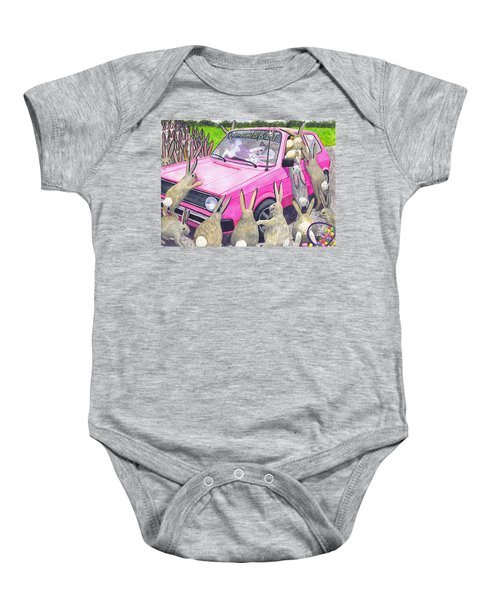 Last One In Is A Rotten Egg Baby Onesie