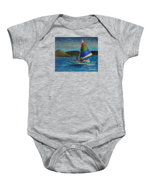 Last Sail Before The Storm Baby Onesie