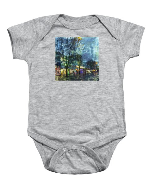 Late Afternoon In Autumn Baby Onesie