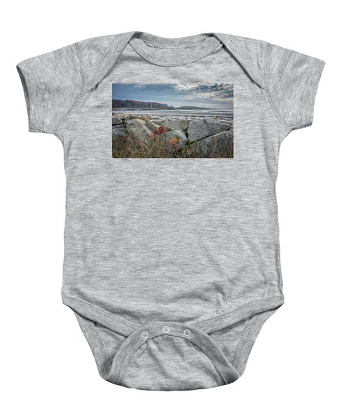 Late Fall Ride Baby Onesie