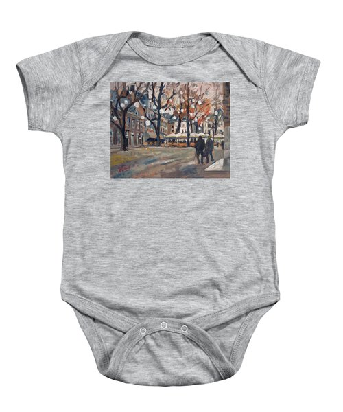 Late November At The Our Lady Square Maastricht Baby Onesie