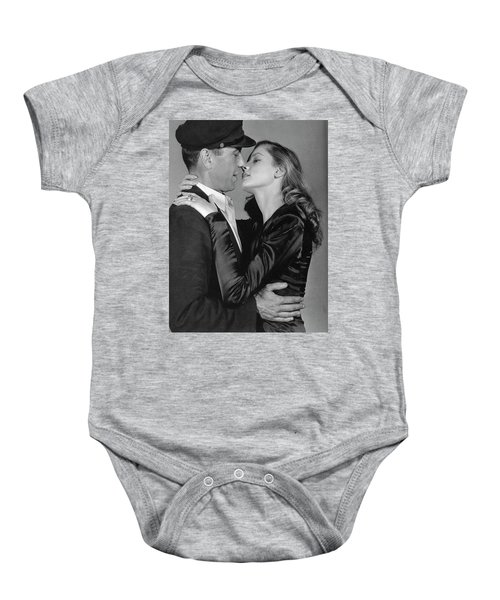 Lauren Bacall Humphrey Bogart To Have And Have Not 1944 Baby Onesie
