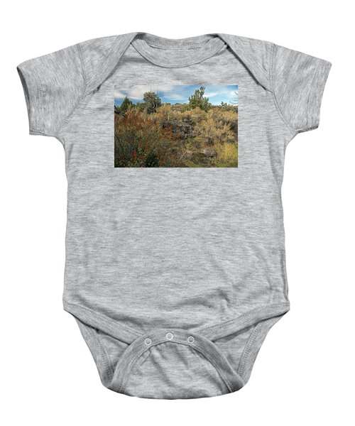 Lava Formations Baby Onesie