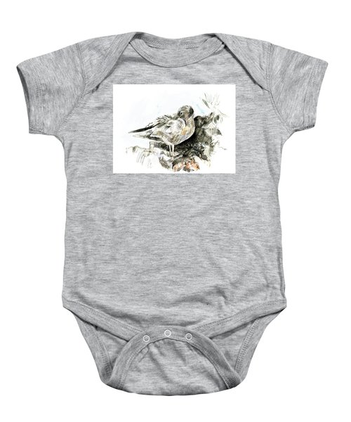 Lava Gull Baby Onesie