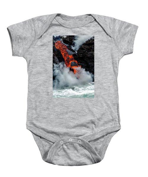 Lava Train Baby Onesie