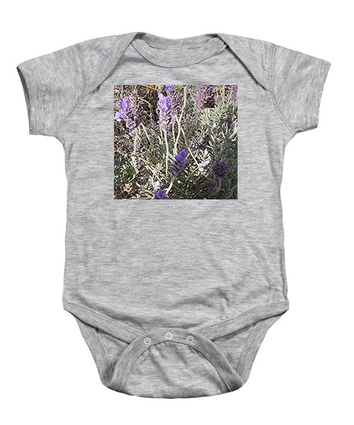 Lavender Moment Baby Onesie by Winsome Gunning