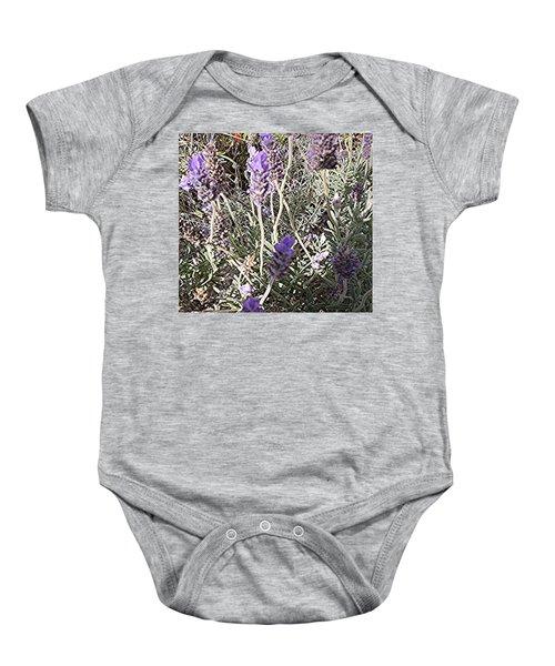 Lavender Moment Baby Onesie